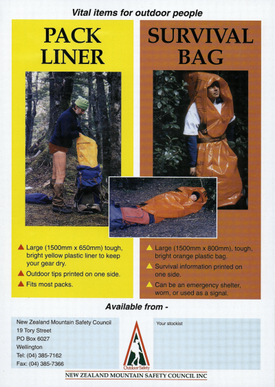 An original pack liner promotional poster